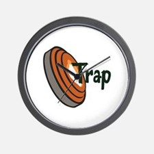 TRAP SHOOTING Wall Clock