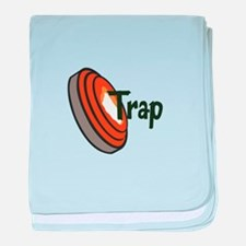 TRAP SHOOTING baby blanket