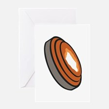 CLAY PIGEON Greeting Cards