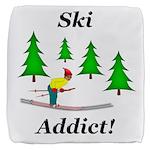 Ski Addict Cube Ottoman