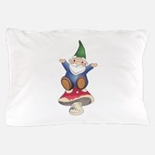 GNOME ON MUSHROOM Pillow Case