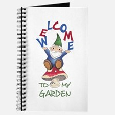 WELOME TO MY GARDEN Journal