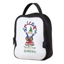WELOME TO MY GARDEN Neoprene Lunch Bag