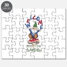 WELOME TO MY GARDEN Puzzle