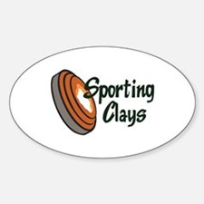 SPORTING CLAYS Decal
