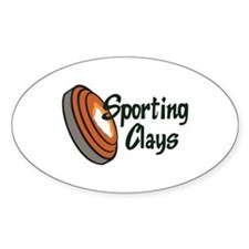 SPORTING CLAYS Stickers