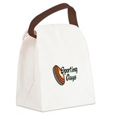 SPORTING CLAYS Canvas Lunch Bag