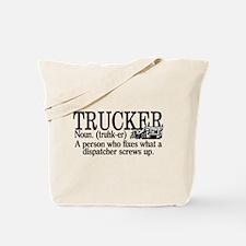 Trucker Definition Tote Bag