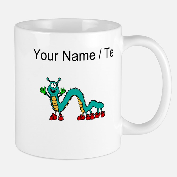 Custom Cartoon Centipede Mugs