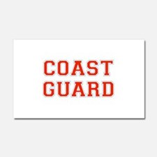 COAST GUARD FULL CHEST Car Magnet 20 x 12