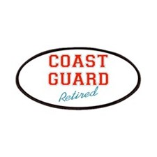 COAST GUARD RETIRED Patches