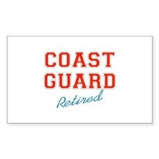 COAST GUARD RETIRED Decal