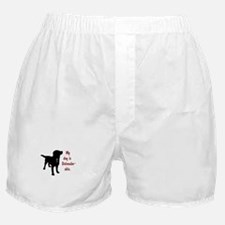 My dog is Dalmador-able - Dalmatian/L Boxer Shorts