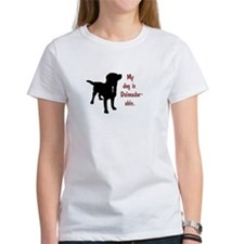 My dog is Dalmador-able - Dalmatian/Labrad T-Shirt