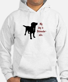 My dog is Dalmador-able - Dalmat Hoodie