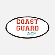 COAST GUARD WIFE Patches