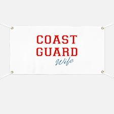 COAST GUARD WIFE Banner