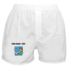 Custom Loving Cat Boxer Shorts