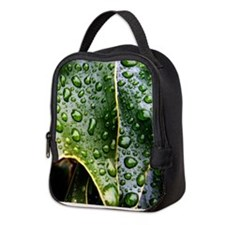 Wet Leaf Neoprene Lunch Bag