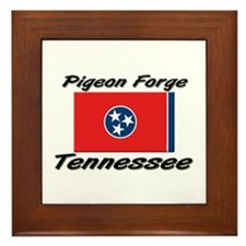 Pigeon Forge Tennessee Framed Tile