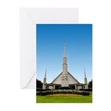 LDS Dallas Texas Temple Greeting Cards