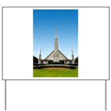LDS Dallas Texas Temple Yard Sign
