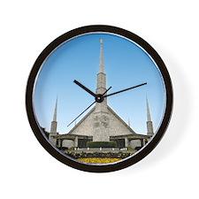 LDS Dallas Texas Temple Wall Clock