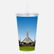 LDS Dallas Texas Temple Acrylic Double-wall Tumble