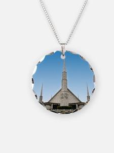 LDS Dallas Texas Temple Necklace