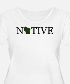 Native - Wisconsin Plus Size T-Shirt