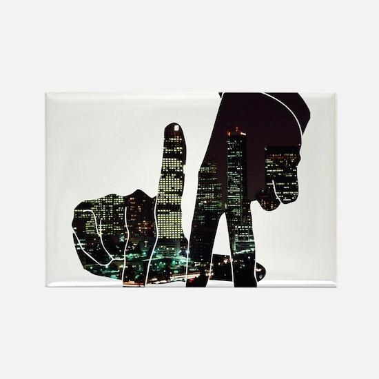 black hands Magnets