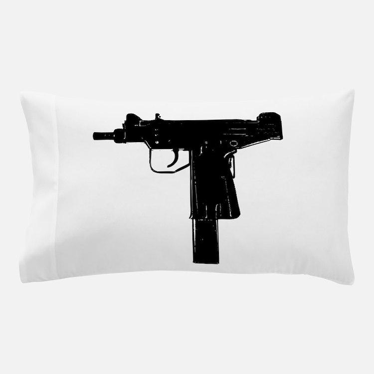 Uzi Pillow Case
