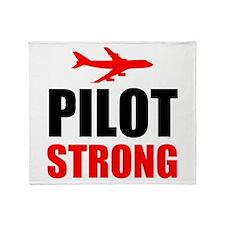 Pilot Strong Throw Blanket