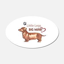 LITTLE LEGS BIG HEART Wall Decal