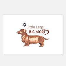 LITTLE LEGS BIG HEART Postcards (Package of 8)