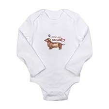 LITTLE LEGS BIG HEART Body Suit