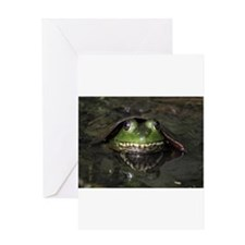 Unique Frog Greeting Card