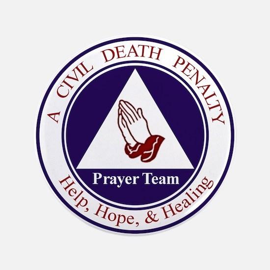 """CD Prayer Team 3.5"""" Button (100 pack)"""