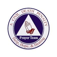 """CD Prayer Team 3.5"""" Button"""