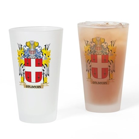 Colbourn Coat of Arms - Family Cres Drinking Glass