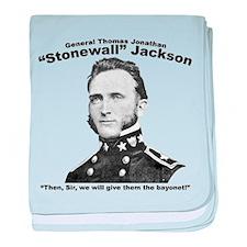 Stonewall: Bayonet baby blanket