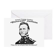 Stonewall: Bayonet Greeting Card