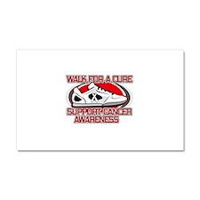 Retinoblastoma Walk Car Magnet 20 x 12