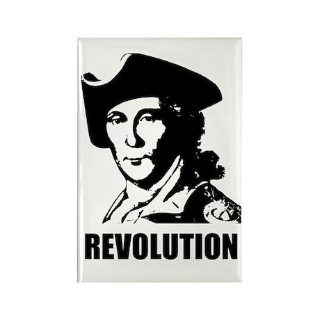 Washington Revolution Rectangle Magnet (100 pack)
