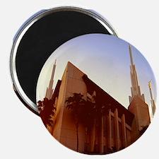 LDS Las Vegas Temple at Sunset Magnets