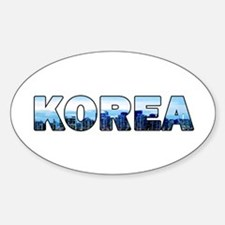 Korea 001 Decal