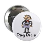 Cartoon Ring Bearer Button