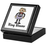 Cartoon Ring Bearer Keepsake Box