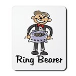 Cartoon Ring Bearer Mousepad