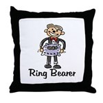 Cartoon Ring Bearer Throw Pillow